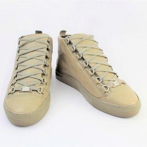 Balenciaga Arena Almond Green Sneakers 40